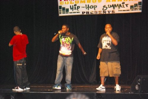 C.I.T.Y Counsel Performing at the Hip-Hop Summit