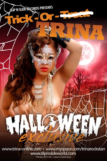 Trick or Trina Halloween Mixtape
