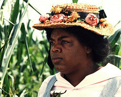 "Oprah as Ms.Sophia in the movie, ""The Color Purple."""